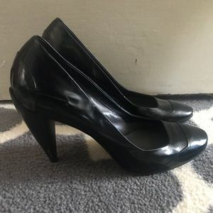 Costume National Black Heels made in Italy